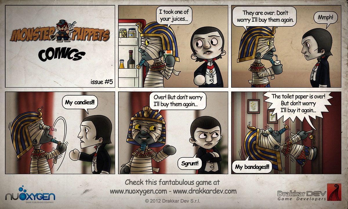 Monster of Puppets Comics #5 by doms3d