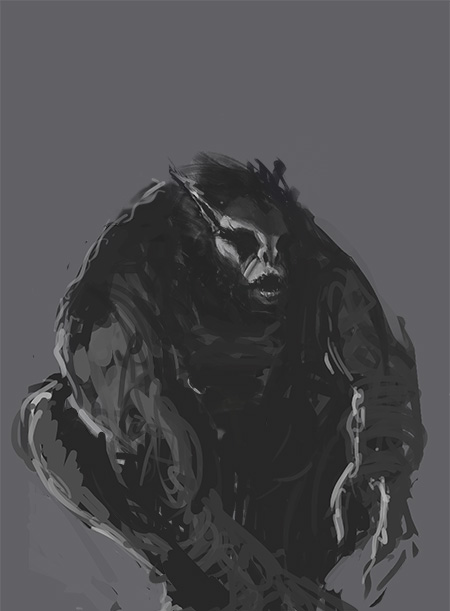 Werebeast >> Werebeast Sketch by Joel-Lagerwall on DeviantArt