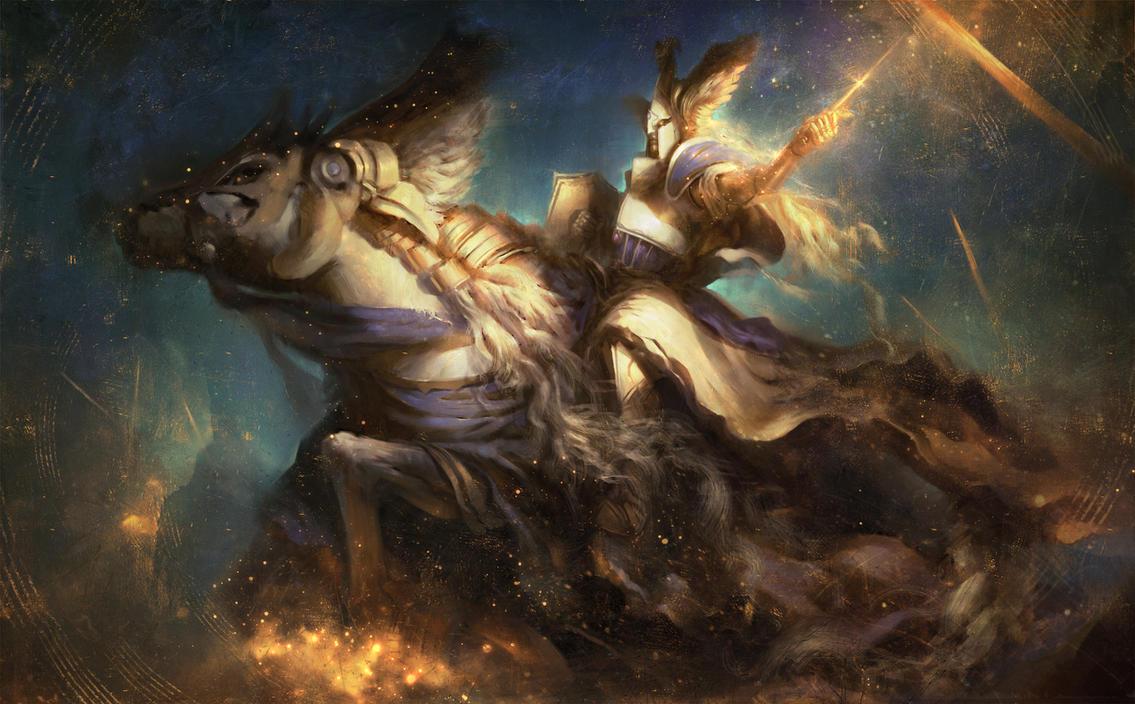 Tyrion - Warhammer by Joel-Lagerwall