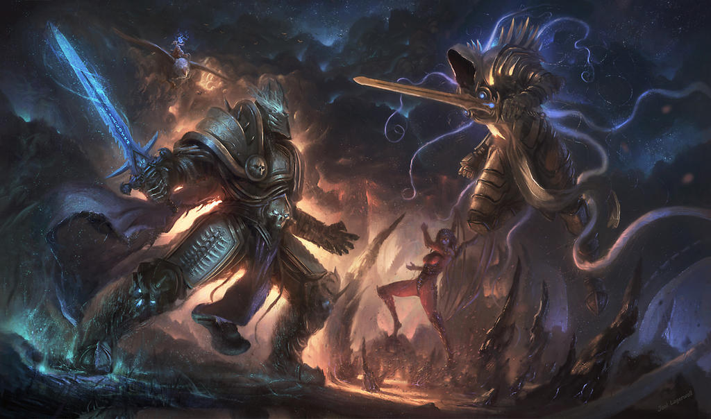 Heroes of the Storm: Heat of Battle by Joel-Lagerwall