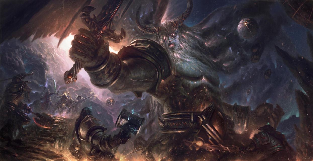 The Dark Titan (Wowhead contest) by Joel-Lagerwall