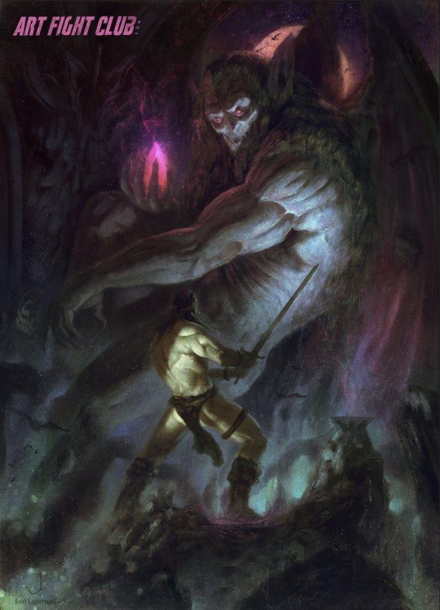 Conan - Art Fight Club Contest by Joel-Lagerwall