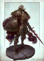 Skull Knight - Berserk by Joel-Lagerwall