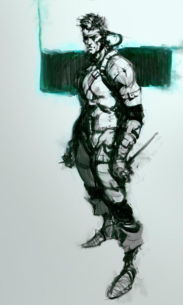 quick sketch metal gear by Joel-Lagerwall