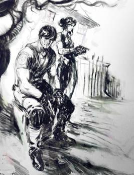 resident evil sketch