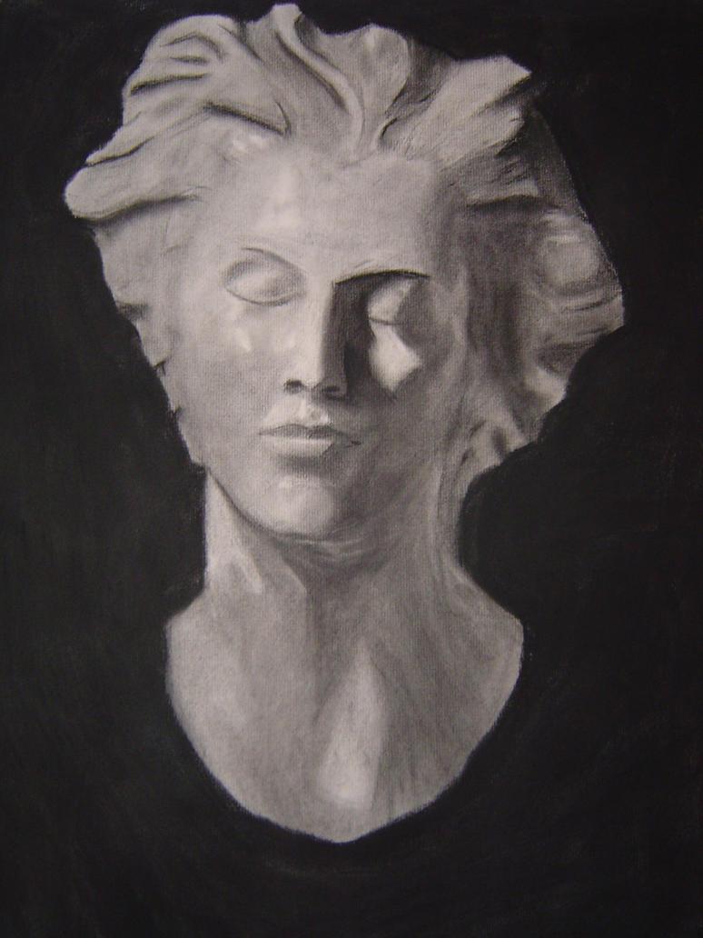 Head bust 1 by verycleanteeth