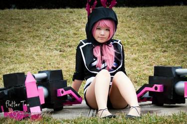 Awaiting Fate - XNFE/Nahfe - Black Rock Shooter by Miss-mimiko