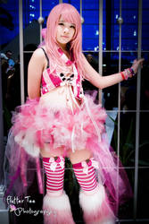 Cage - Megurine Luka - Vocaloid Rave Outfit by Miss-mimiko