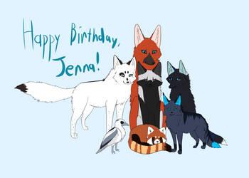 Happy Birthday, Jenna! by Igloo9201