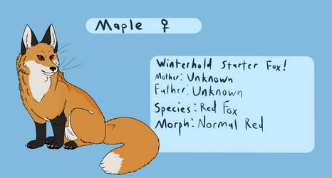Maple Reference by Igloo9201
