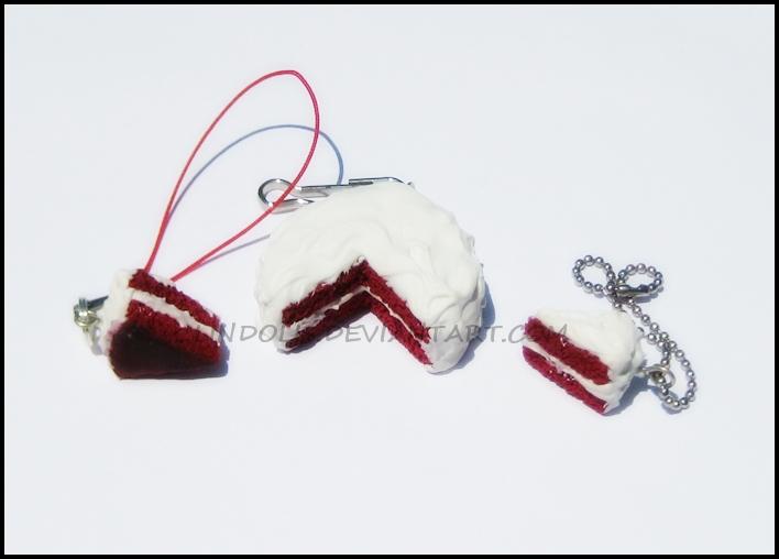 Red Velvet Cake White Frosting by Lindolis