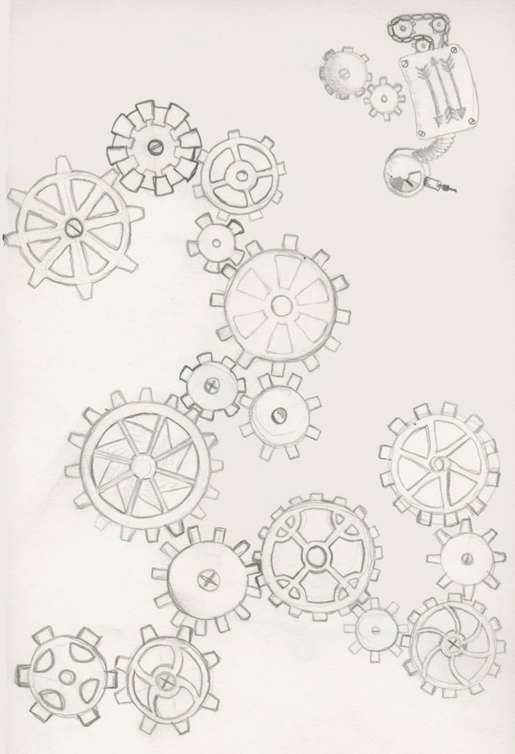 Gear Tattoo 2 By Kestrajean On Deviantart