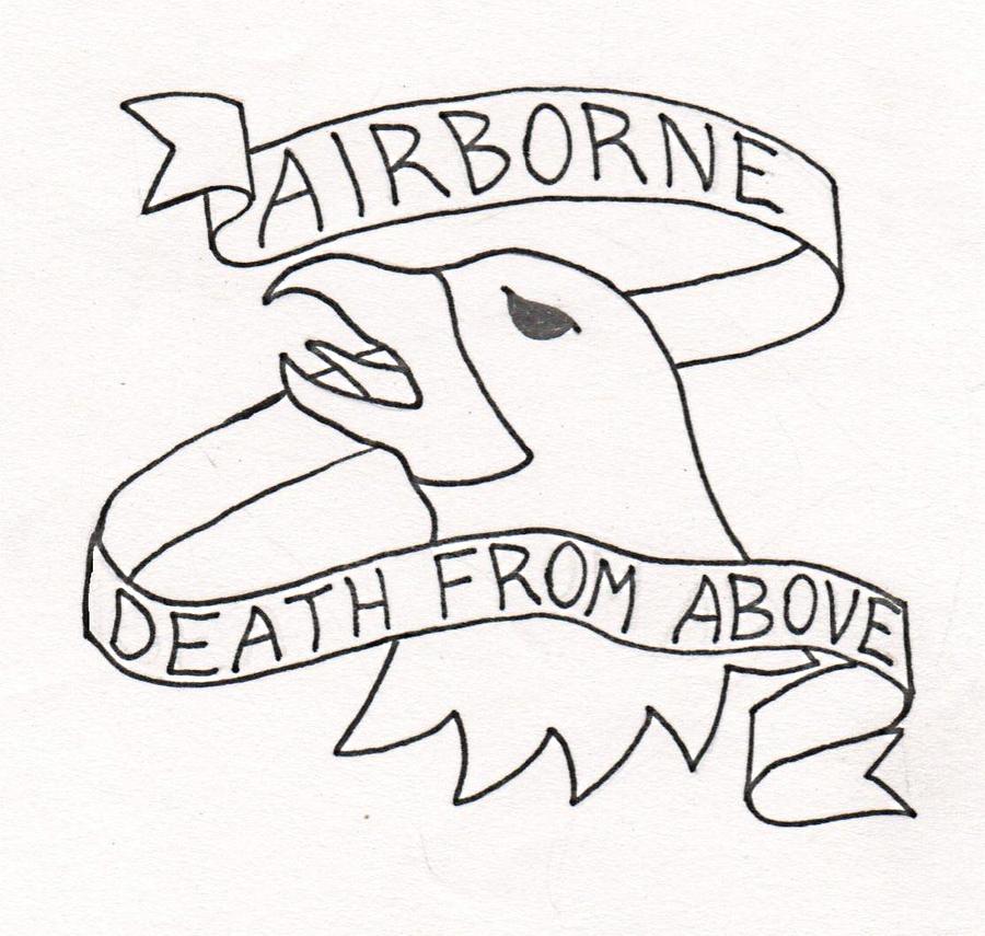 504th 82nd Airborne Tattoo Designs