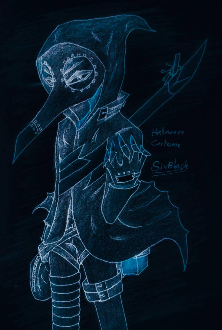 My Costume for the Halloween season by Bladez102