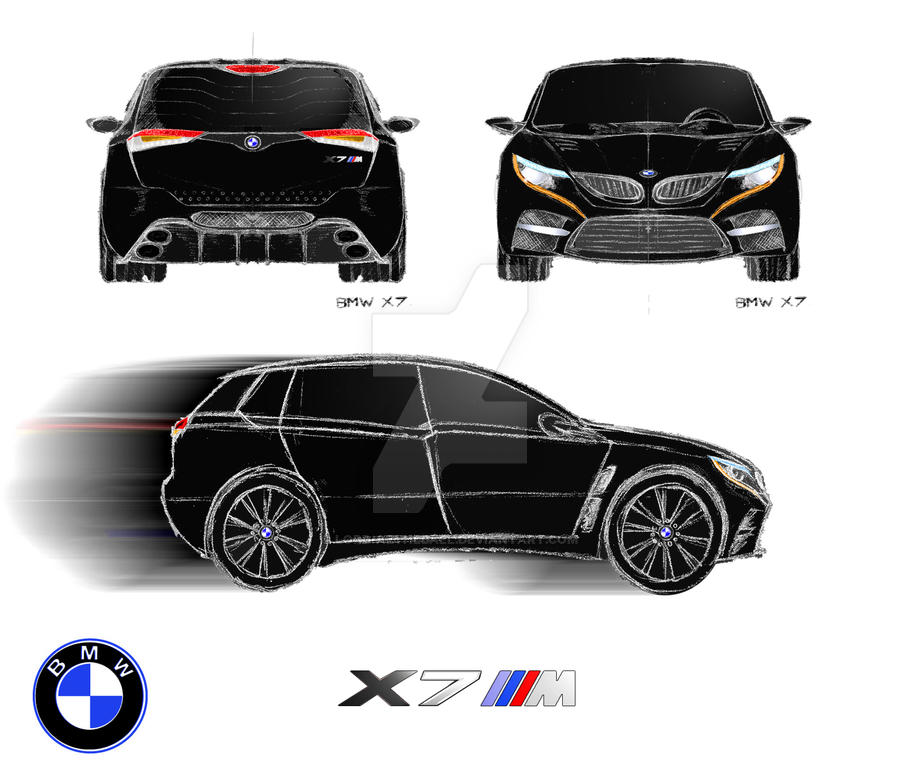Bmw X7 2018: BMW X7M Scrap By Lord-Azthebael On DeviantArt
