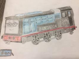 Benjamin the diesel shunter
