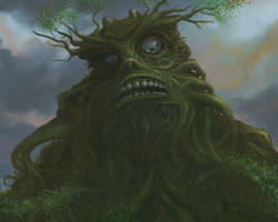 Forrest God by SCPArt