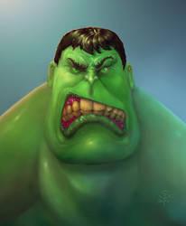 Hulk Grrrrr.. by SCPArt