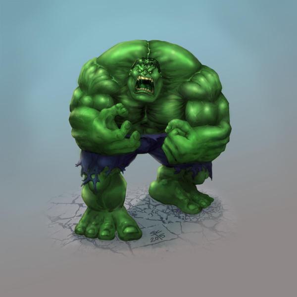 Hulk #2 by SCPArt