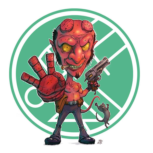 Hellboy 3  by SCPArt