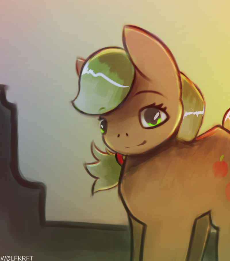 APPLE. (Reworked) by WOLFKRFT