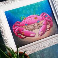 Crab by LunaTopaz