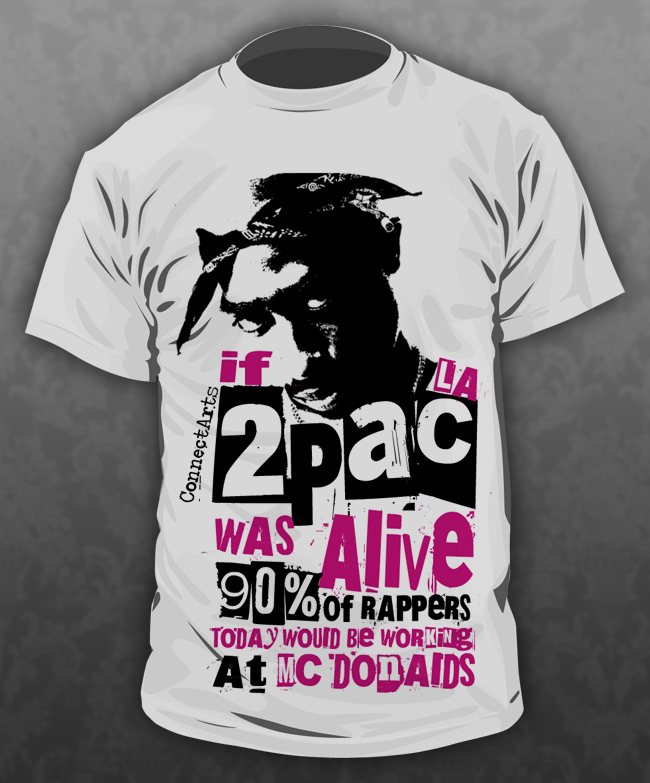 2pac t shirts for sale