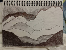 Mountain Landscape by BringMePenguinDust