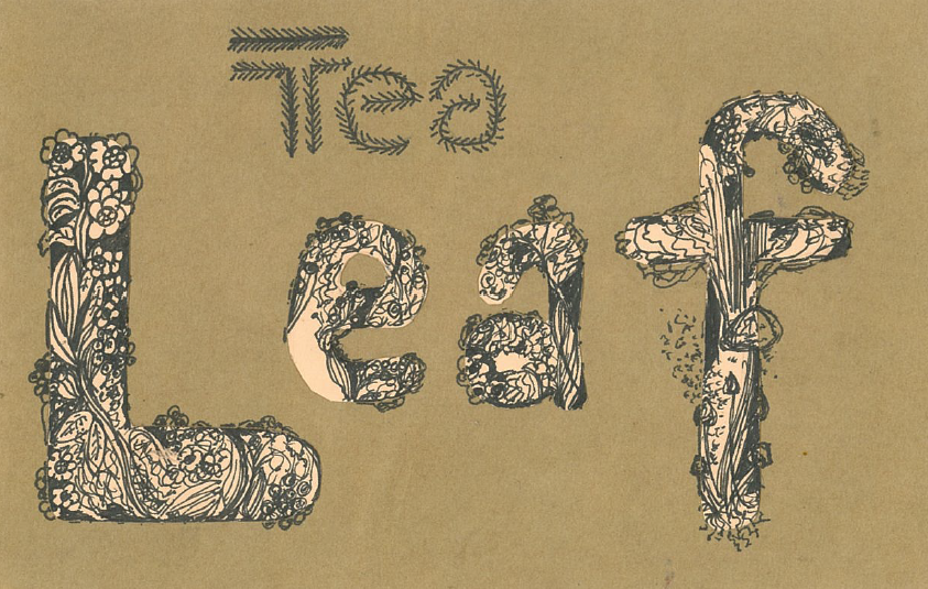 Growing Tea Leaf Typography by BringMePenguinDust