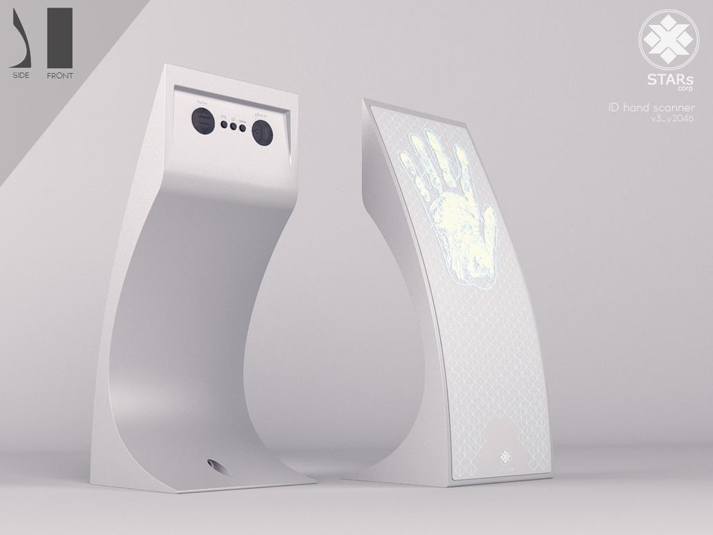 ID hand scanner by Klaudio2U