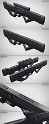 Pulsed energy weapon by Klaudio2U