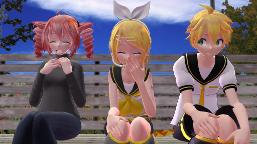[MMD] Good Time At The Park by Tetolover04