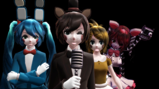 Mmd five nights at meiko s by tetolover04 on deviantart