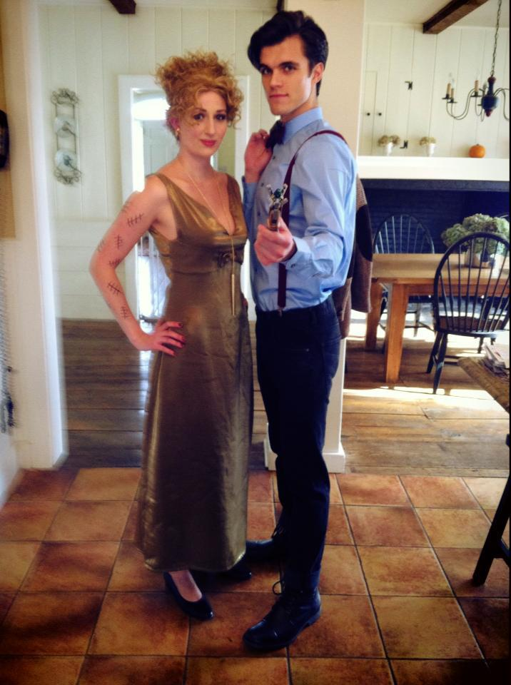 River Song and the Eleventh Doctor by MisterTimeLord