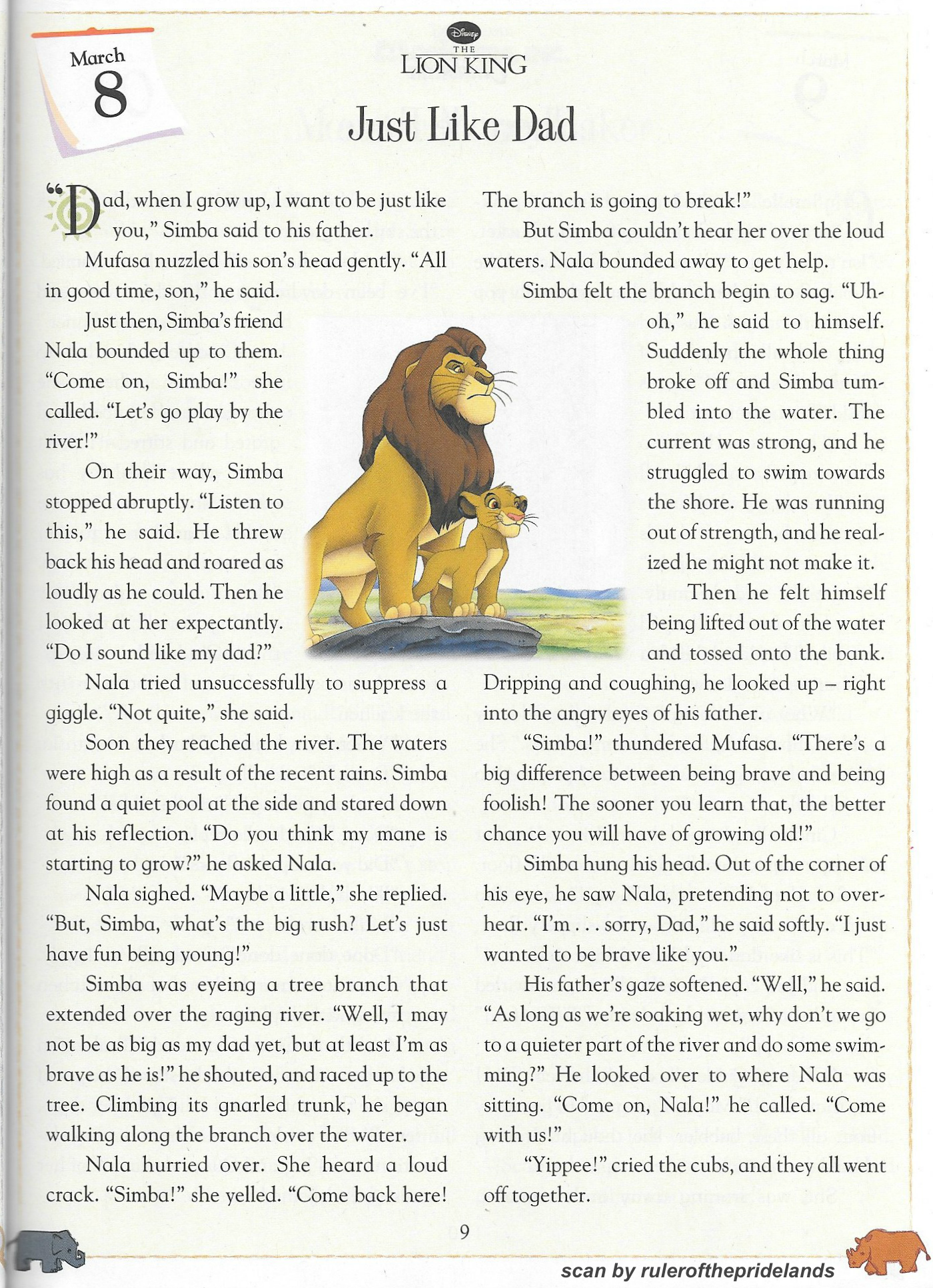 Lion King Short Story - March by rulerofthepridelands on ...