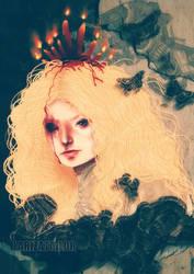 Crimson Peak - Edith by LarizaTailor