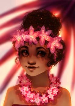 Moana - Flower Crown