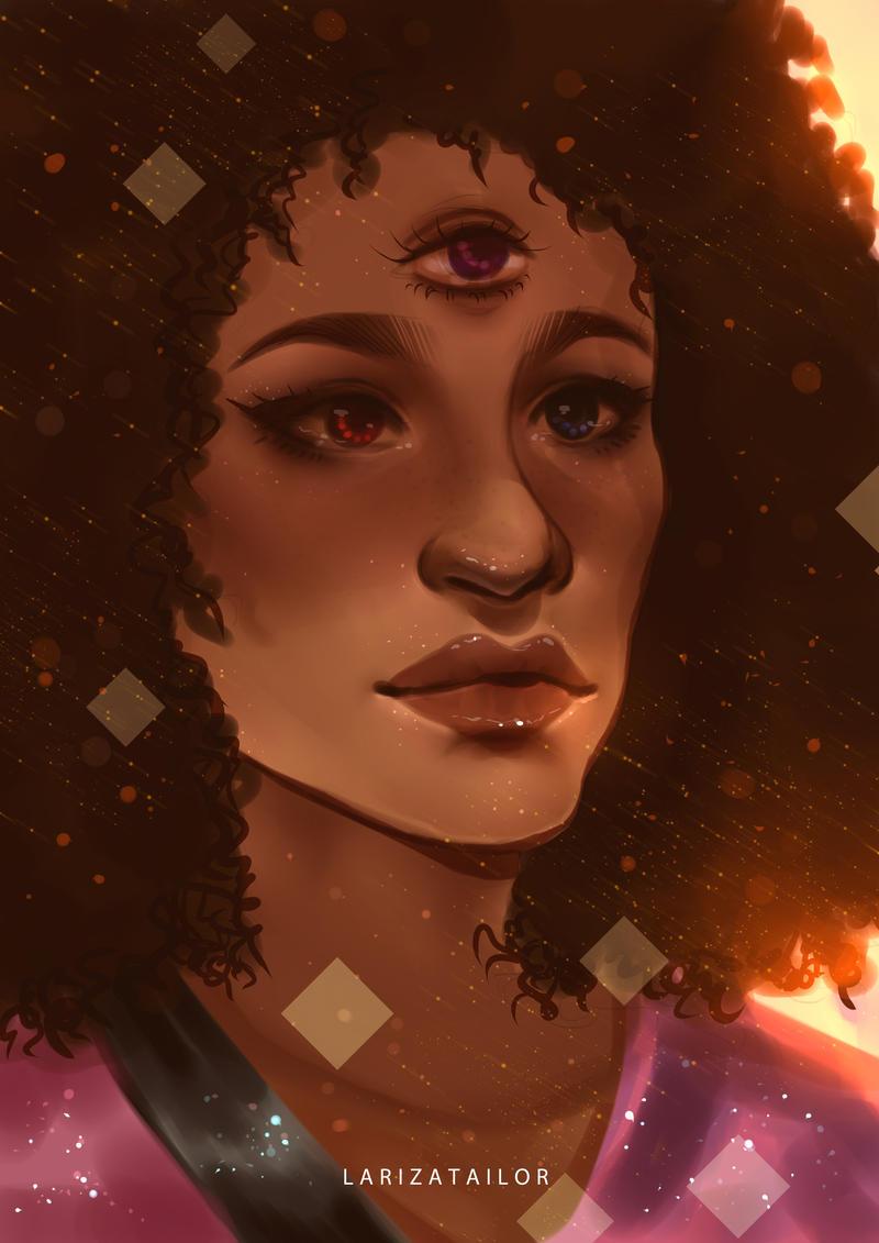 Steven Universe - Garnet by LarizaTailor