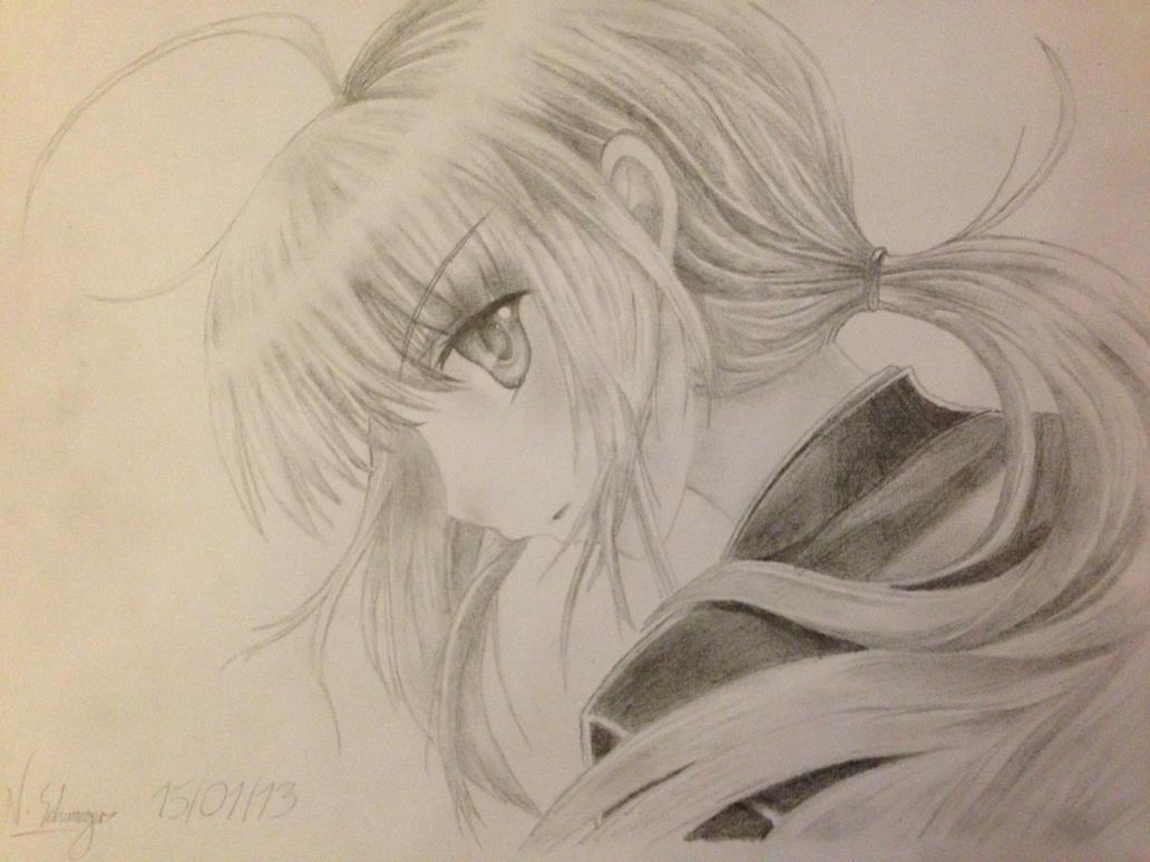 Saber (Fate/Zero) by Schwaiger