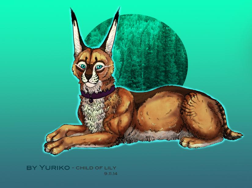 Resting by Yuriko-ChildofLily