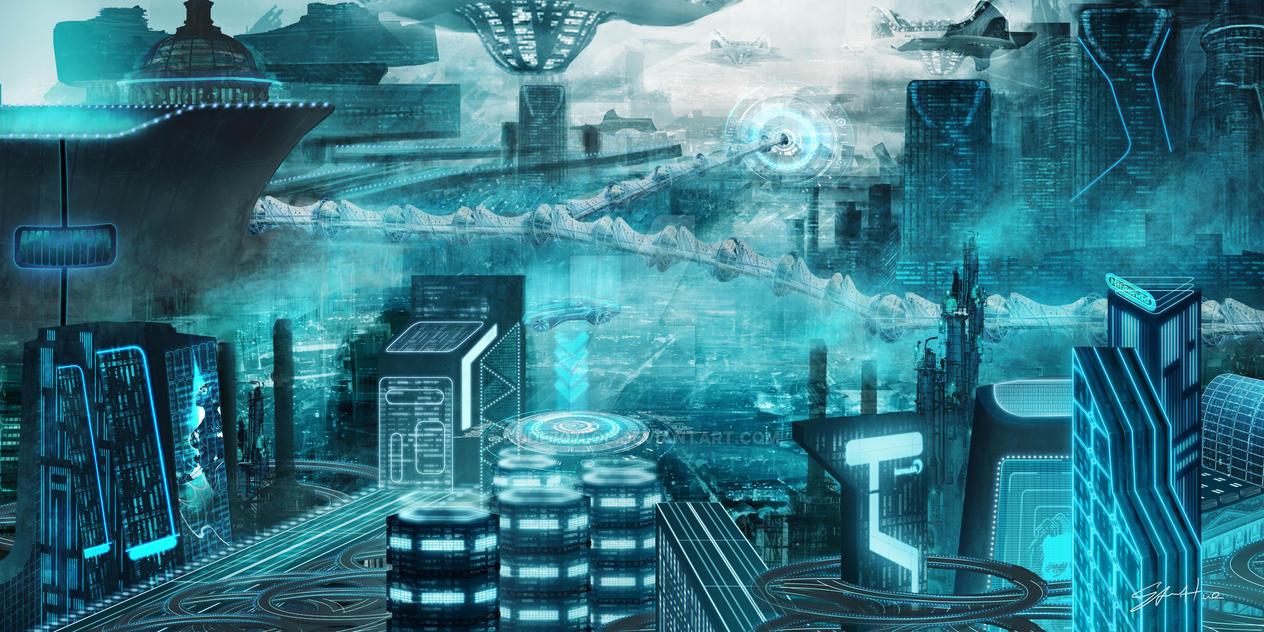 CityAerial01G 2 by dude707LoL