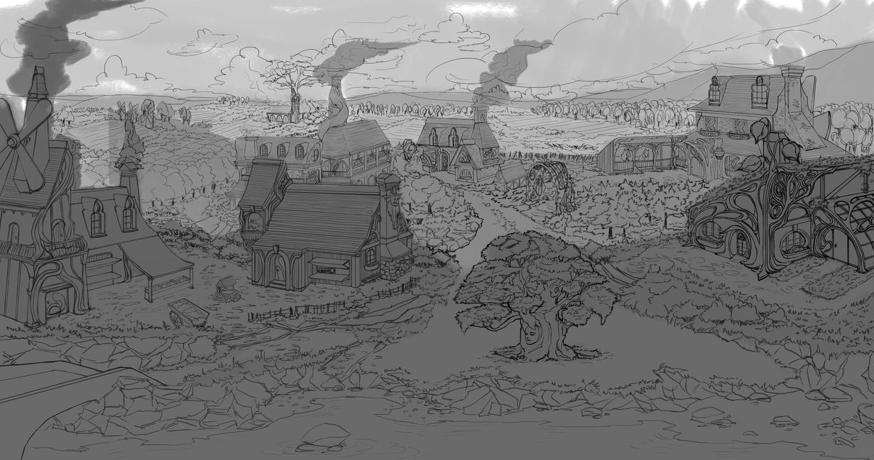 village concept 01F by dude707LoL
