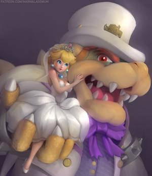 Peach and Bowser's Wedding!