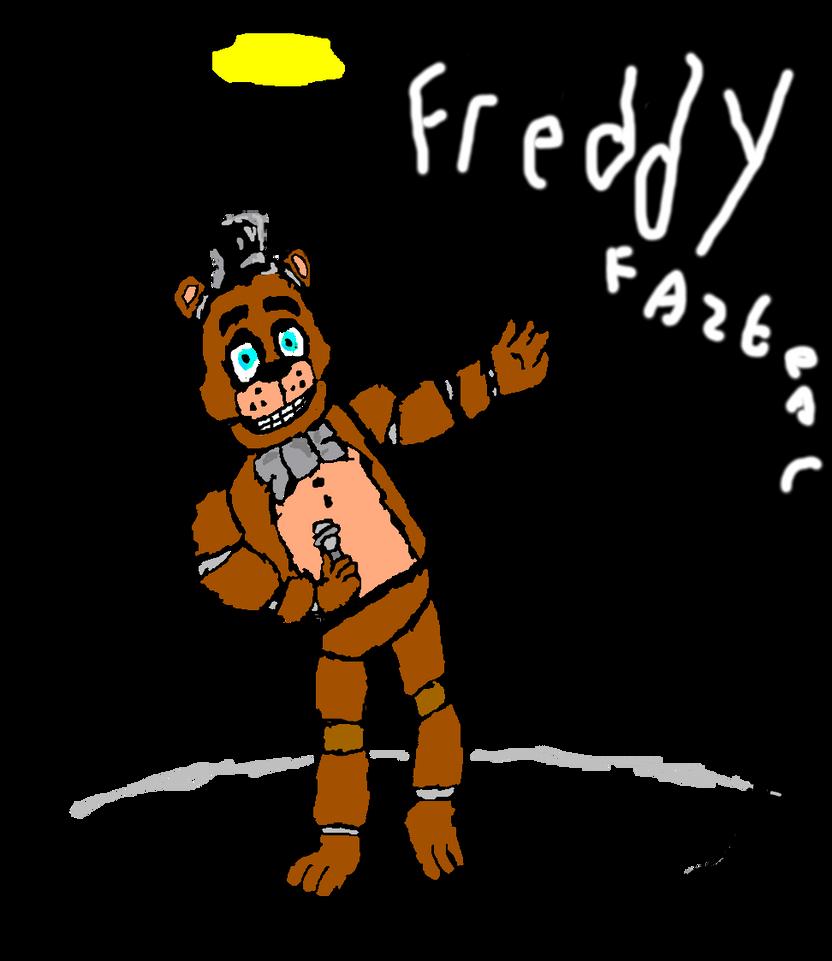 FREDDY FAZBEAR in spotlight by fizzysodagamer