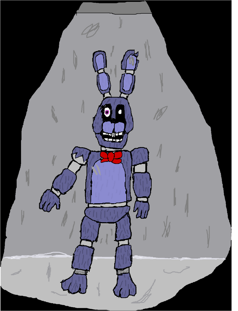 DEMENTED BONNIE fan made character by fizzysodagamer