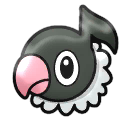 Chatot from Shuffle by AllPokeSprite