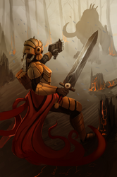 Infinity Wars - Flame Dawn Knight by JordanBeeston