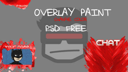 OVERLAY PAINT COLOR CHANGE [FREE PSD]