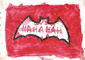 HaHaHa Joke on Batman Logo