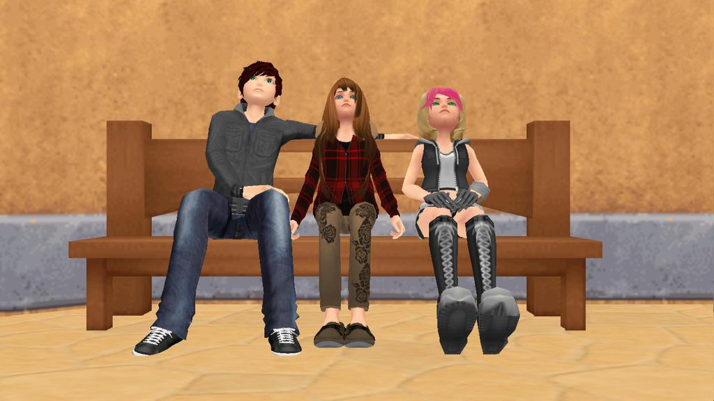 KH:WTD: New Friends? by Grey-Wolf1